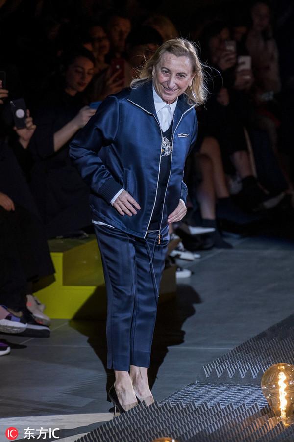Prada设计师Miuccia Prada女士
