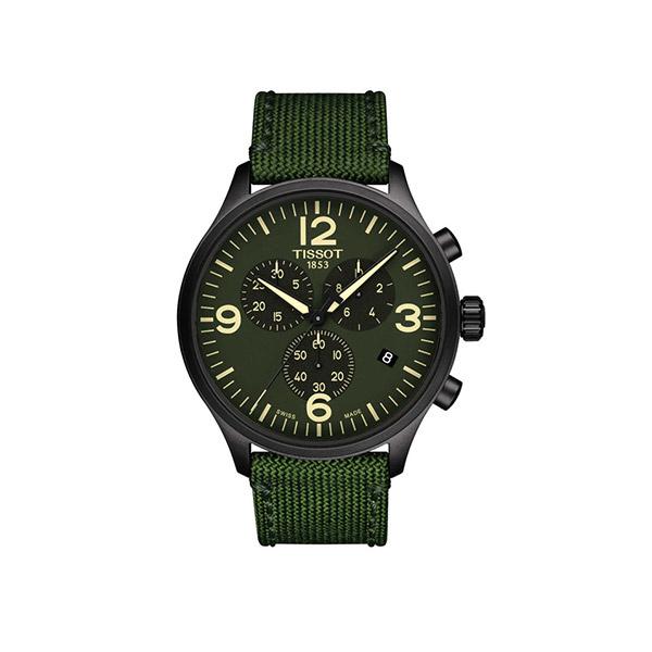 单品推荐:天梭速驰系列编织表带腕表(图片来源于品牌)