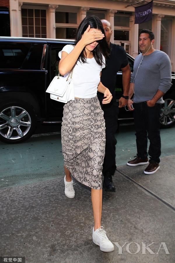 肯达尔・詹娜(Kendall Jenner)(图片来自视觉中国)