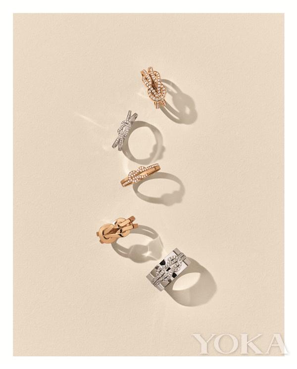單品推薦:FRED 8o0系列戒指(圖片來源于品牌)