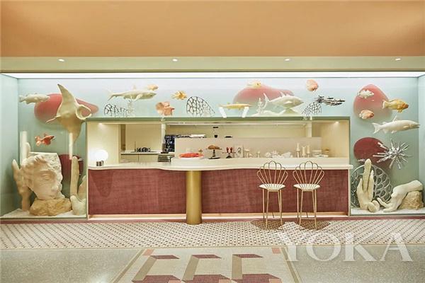 GENTLE MONSTER甜品店(图片来源于品牌)