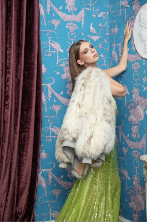 LIU LISI Paris Couture秋冬大片(图片来源于品牌)