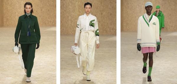 LACOSTE 2020秋冬巴黎时装秀款胶囊系列正式上市
