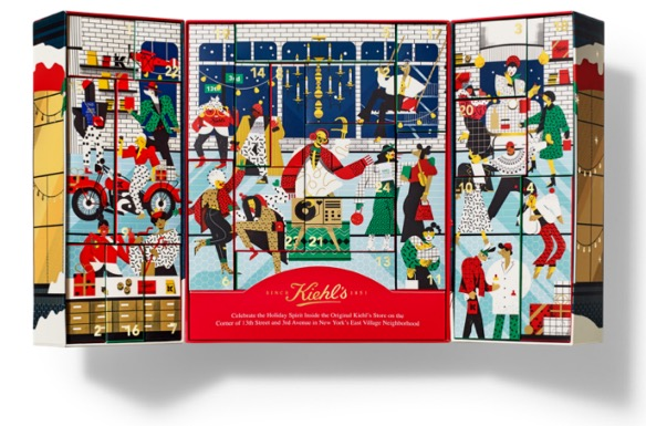▲ Kiehl's 科颜氏2020年节日限量版倒计时礼盒 655 RMB / 全国限量7,500份