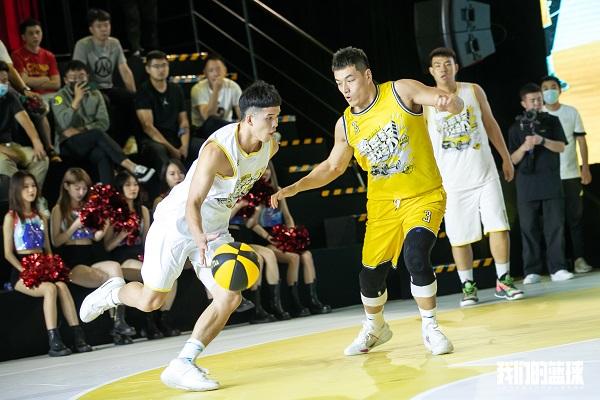 """杜锋、方硕亮相吉利""""我们的篮球""""总决赛"""
