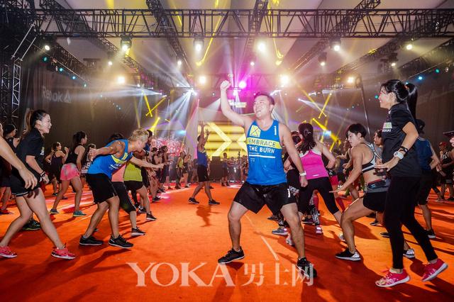 锐步全球健身巡演上海站完美落幕