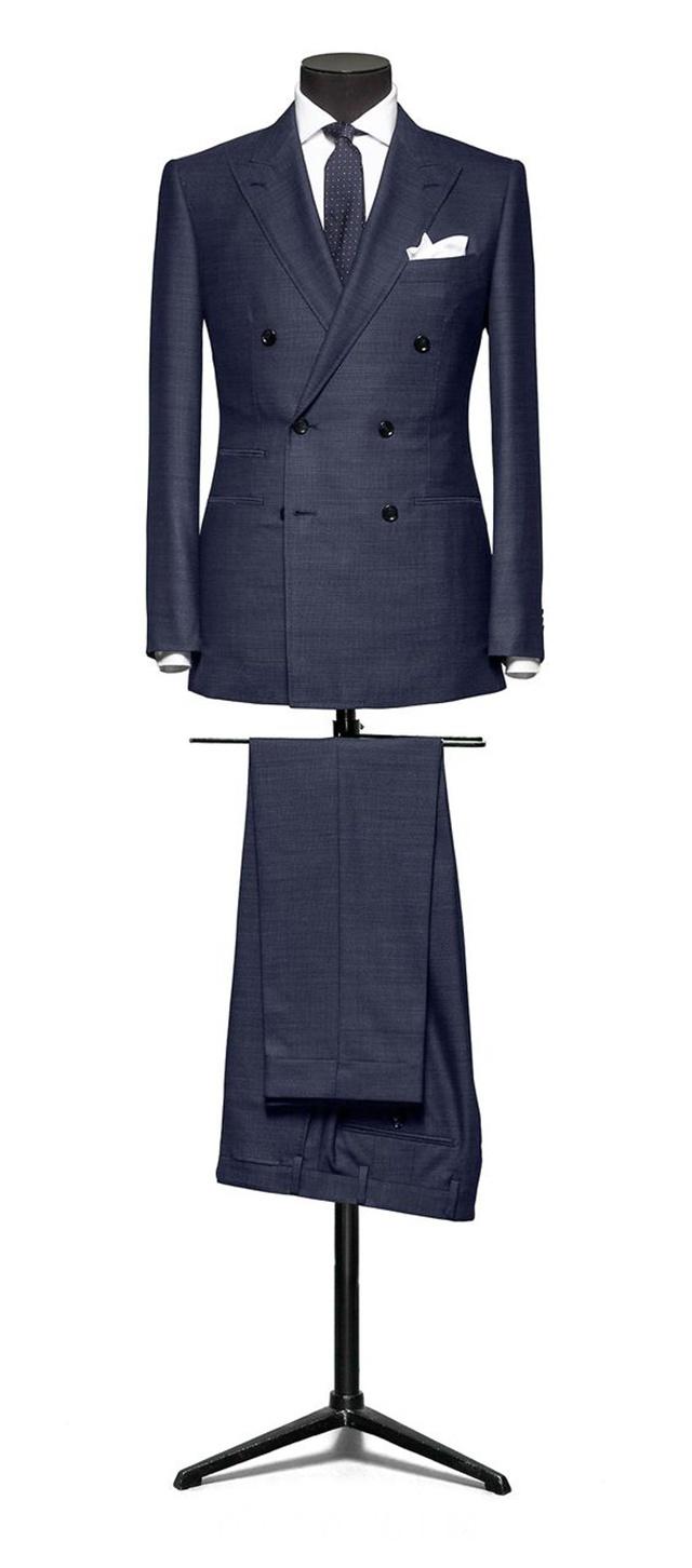 双排扣西装是很帅气没错 前提是你绕过雷区穿对