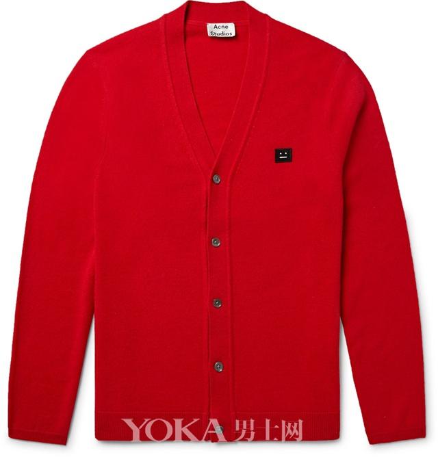 ACNE STUDIOS羊毛开衫,�250。